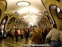 Moscow's metro stations are themselves tourist attractions