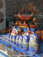 Russian dolls and other souvenirs