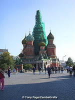 St. Basil's Cathedral undergoing refurbishment
