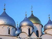 St Sophia Cathedral is one of the earliest stone buildings in the north of Russia