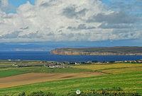 Dunnet Head, the most northerly point of mainland Britain