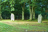 A couple of standing stones