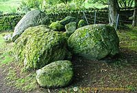 Prehistoric boulders at Balnuaran of Clava