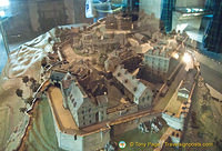 A model of Edinburgh Castle