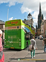 Edinburgh Sightseeing bus