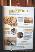 About the restoration of the Laich Hall