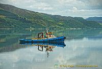 Fishing trawler in the Kyle of Lochalsh