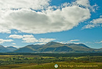 Ben Nevis as seen from the Commando Memorial