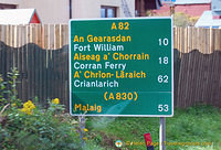 10 km to Fort William