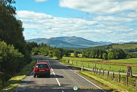 Taking the A82 to Fort William