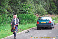 Perhaps a walker on the Great Glen Way