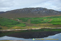 The Lochaber area is a land of mountains, lochs and sea