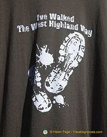 I've walked the West Highland Way towel