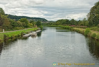 A section of the Caledonian Canal