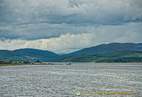 Beautiful scenery of Loch Ness