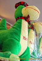 At the Loch Ness Centre, the Nessie Shop has lots of cuddly Nessies