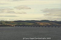 The Tay is the longest river in Scotland, stretching a distance of 193 km [Scotland]