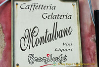 A real Cafetteria Montalbano - not a film set