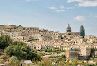Leaving behind Ragusa Ibla
