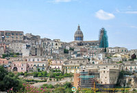 Looking back at Ragusa Ibla
