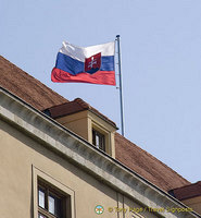 Slovak Republic flag