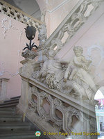 Staircase in town hall, Maribor, Slovenia