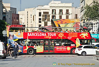 Barcelona sightseeing bus