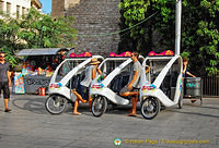 Barcelona trixi - tricycle taxis
