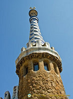 Another amazing feature of Gaudi architecture