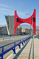 Red Arches on Puente de la Salve