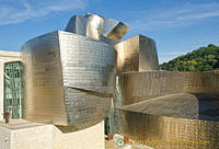 The spectacular Guggenheim Bilbao