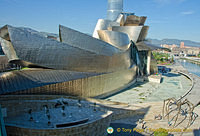 Guggenheim Bilbao was intended to look like a ship