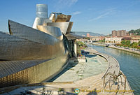 Guggenheim Bilbao by the Nervion River
