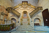 Burgos Cathedral: Golden Staircase