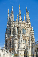 Cimborrio octagonal tower of Burgos Cathedral
