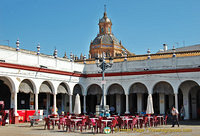 The Market Square was built on what was previously the Santa Catalina Convent