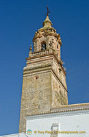 San Bartolome tower was completed during the Baroque period