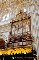 Organ of the Catedral de Cordoba