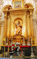 Cathedral of Cordoba altar