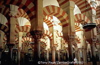 Columns of the Mezquita