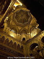 Mezquita's Italianate dome