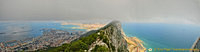 Panoramic view of Gibraltar