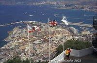 Uninterrupted views across the Straits of Gibraltar to Africa and Spain to the north
