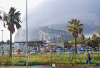 Arriving at Gibraltar