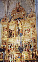 Capilla Real: The Main Altarpiece