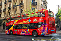 Granada sightseeing bus
