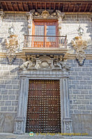 Main doorway of the Palacio de la Madraza