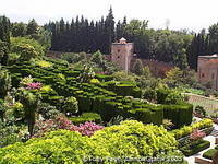 The Alhambra's gardens