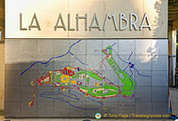 Map of The Alhambra