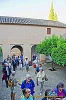Generalife Palace: Visiting the Patio de la Acequia
